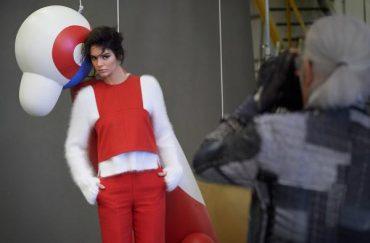 Fendi Fall/Winter 2015 Campaign Starring Kendall Jenner Backstage Shot