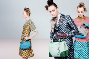 From Prada FW15 Advertising Campaign:  Womenswear, Eyewear and Bags