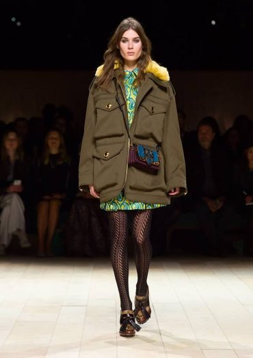Burberry Womenswear Fashion Show, February 2016