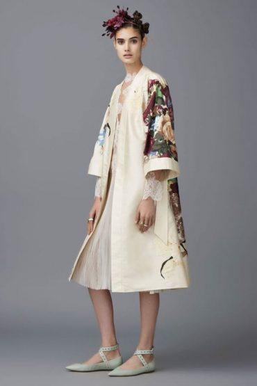 Valentino Kimono Floral Collection