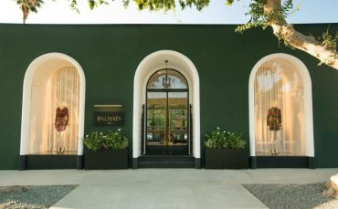 Balmain Flagship Los Angeles