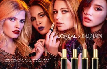 BALMAIN x L'ORÉAL: The shades