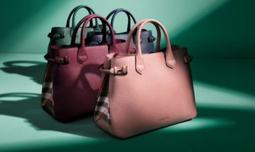 Burberry: The Medium Banner in Leather and House Check