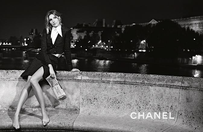 Chanel Spring Summer 2015 Ready To Wear Photoshoot