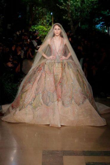 Elie Saab Haute Couture Spring /Summer 2015 Fashion Show