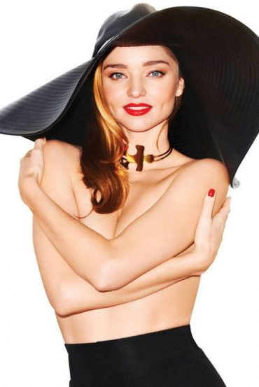Miranda Kerr Fashion Shoot for Harper's BAZAAR