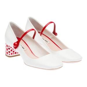 Miu Miu White Croisière Sneakers DRSm25d8