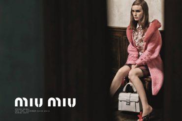 Miu Miu Spring/Summer 2015 Advertising Campaign
