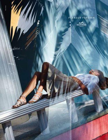 """Hermès Spring/Summer  2015 Campaign """"Flâneur Forever"""":  Lookbook"""