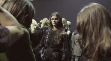 ELIE SAAB Ready-to-Wear Winter 2015/16 Runway Backstage