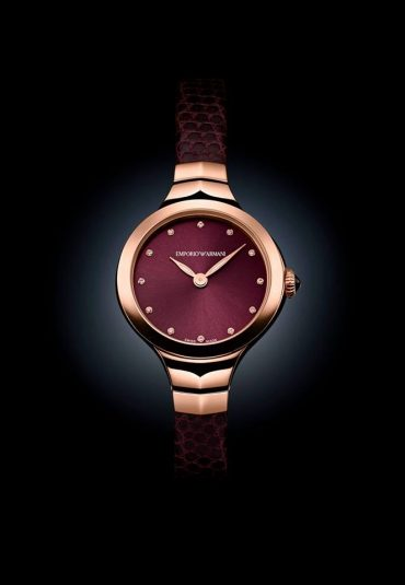 Emporio Armani Swiss Made Fall 2015 Watch Collection, Baselworld 2015