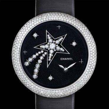 CHANEL Mademoiselle Privé embroidered by Maison Lesage: Timepiece