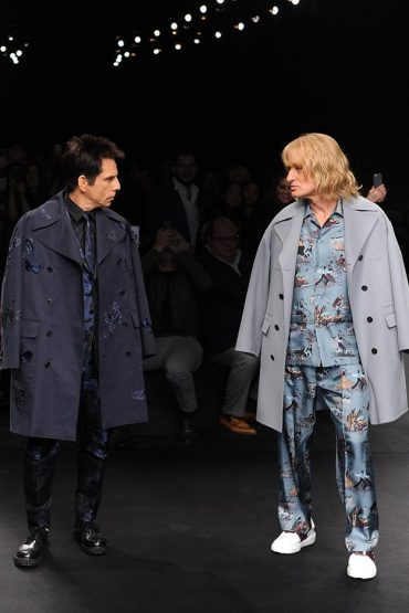 Zoolander 2 at the Fall/Winter 2015-16 Valentino Show