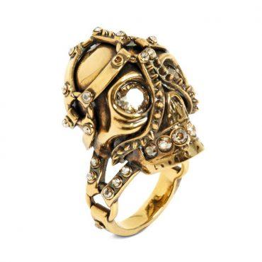 Alexander McQueen Jewellery Skull Collection