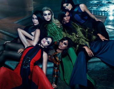 Balmain Fall/Winter 2015 Advertising Campaign