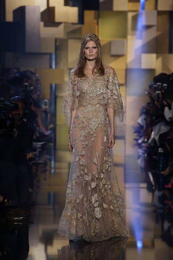 d88503df4434 Elie Saab Haute Couture Autumn Winter 2015 16 Fashion Show   Luxury Wear
