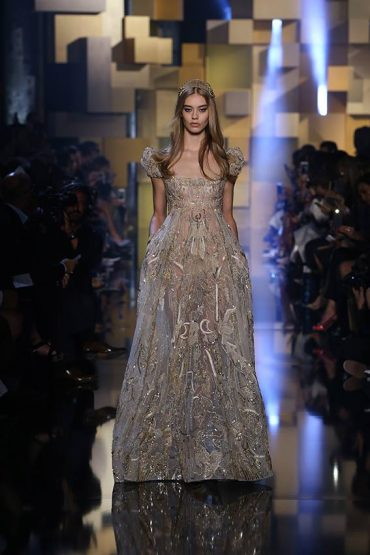 Elie Saab Haute Couture Autumn Winter 2015/16 Fashion Show