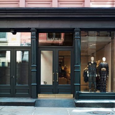 Balmain Opened New York Flagship Store