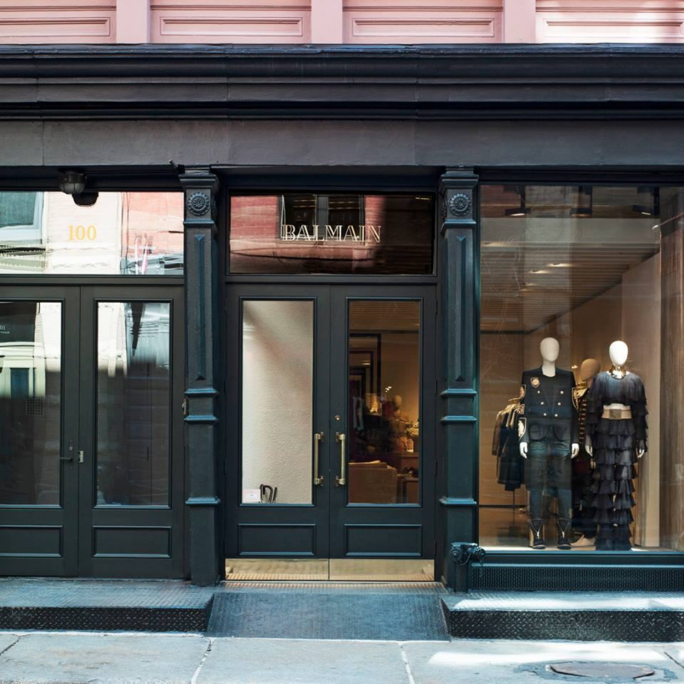 b66d5d3cf7d Balmain Opened New York Flagship Store | Luxury Wear
