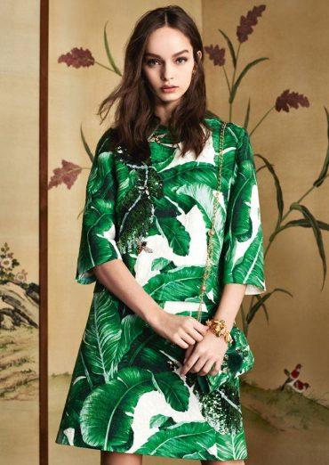 Dolce & Gabbana Banana Leaf Collection