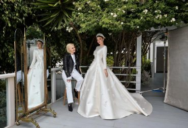 Miranda Kerr's Wedding Dress by Dior