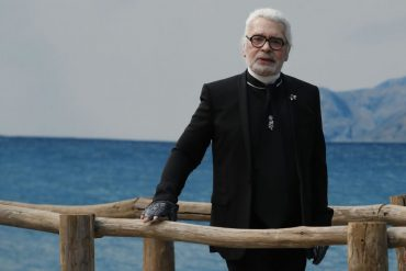 Fashion designer Karl Lagerfeld died