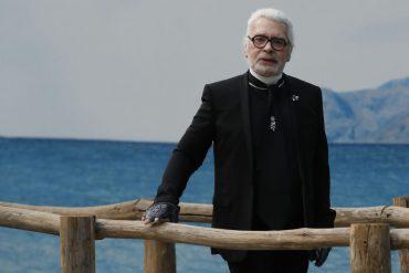 Fashion designer Karl Lagerfeld died
