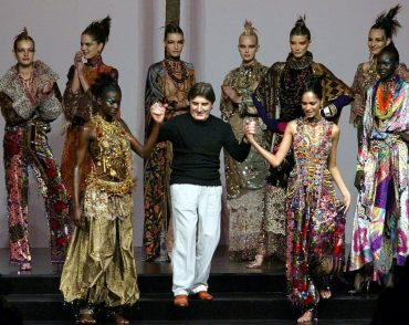Fashion designer Emanuel Ungaro died